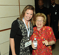 www.acepixs.com<br /> <br /> September 11 2017, New York City<br /> <br /> Ruth Westheimer (R) at the Annual Charity Day hosted by Cantor Fitzgerald, BGC and GFI at Cantor Fitzgerald on September 11, 2017 in New York City<br /> <br /> By Line: William Jewell/ACE Pictures<br /> <br /> <br /> ACE Pictures Inc<br /> Tel: 6467670430<br /> Email: info@acepixs.com<br /> www.acepixs.com