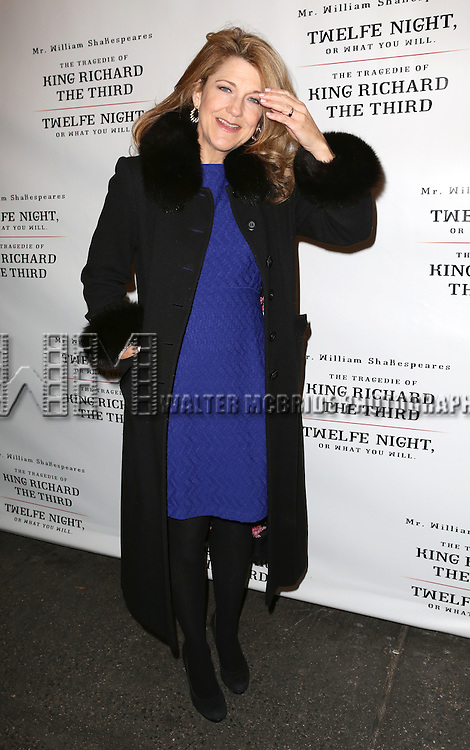 Victoria Clark attend the Broadway Opening Night Performance of 'Twelfth Night' at the Belasco Theatre on November 10, 2013 in New York City.