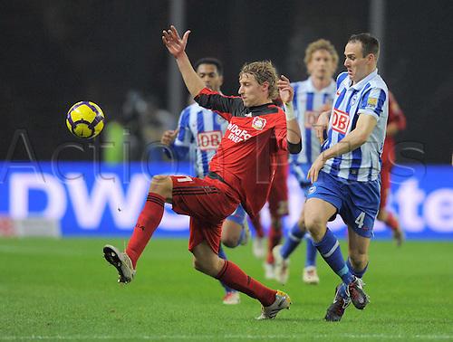 11/12/2009 Bundesliga Hertha Berlin v Leverkusen. Stefan Kieflling Kieflling of Bayer Leverkusen.
