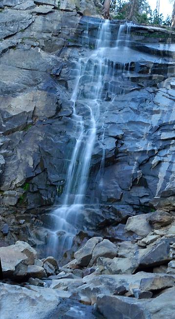 Rancheria Falls to Rancheria Creek