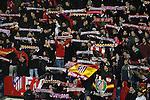 Atletico de Madrid's supporters during La Liga match.February 21,2015. (ALTERPHOTOS/Acero)