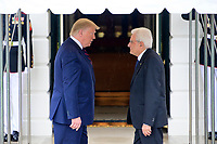 OCT 16 Trump Welcomes Mattarella of Italy to the White House