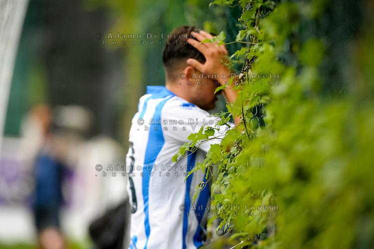 Del Sole Ferdinando (Pescara) during the withdrawal preseason Serie A; match friendly between Pescara vs San Nicolò, on July 28, 2016. Photo: Adamo Di Loreto/BuenaVista*photo