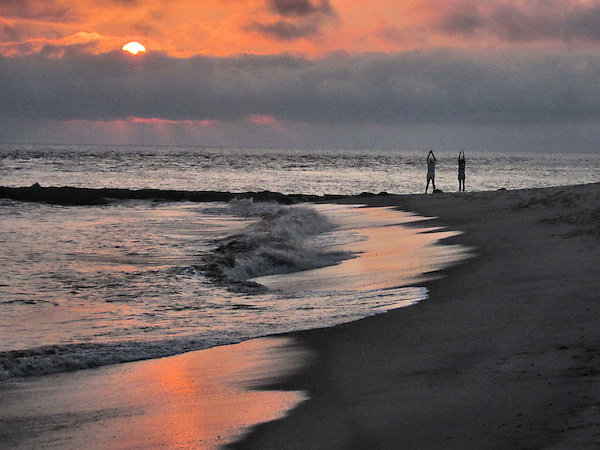 yoga, stretch, beach, sunrise, ocean