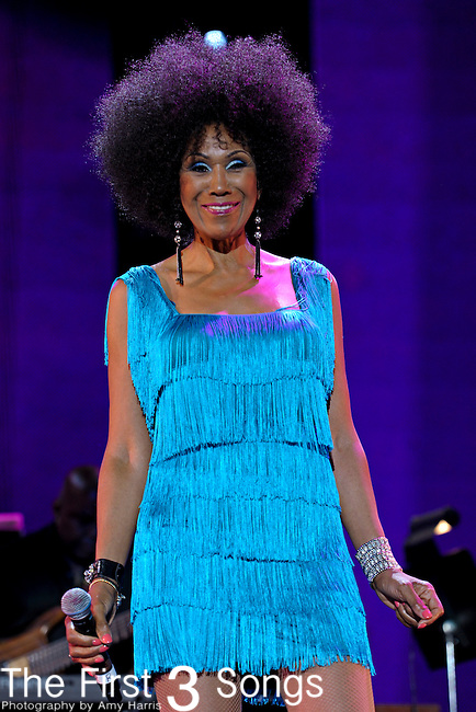 Ruth Pointer of The Pointer Sisters performs at the 2012 Essence Music Festival on July 6, 2012 in New Orleans, Louisiana at the Louisiana Superdome.