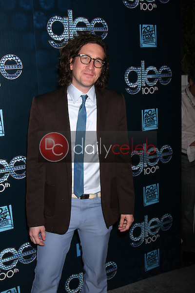 Brad Falchuk<br /> at the GLEE 100th Episode Party, Chateau Marmont, West Hollywood, CA 03-18-14<br /> David Edwards/DailyCeleb.Com 818-249-4998