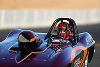 Jul 28, 2017; Sonoma, CA, USA; NHRA super gas driver Justin Strom during qualifying for the Sonoma Nationals at Sonoma Raceway. Mandatory Credit: Mark J. Rebilas-USA TODAY Sports