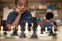 03082012-  Seattle University Youth Initiative After School program at Bailey Gatzert elementary school.