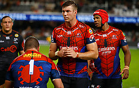 Stephan Lewies of the Emirates Lions during the Super rugby match between the Cell C Sharks and the Emirates Lions at Jonsson Kings Park Stadium in Durban, South Africa 30 March 2019. Photo: Steve Haag / stevehaagsports.com