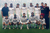 LA Galaxy starting  XI. CD Chivas USA defeated the LA Galaxy 3-0 in the Super Classico MLS match at the Home Depot Center in Carson, California, Thursday, August 23, 2007.