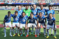 San Jose, CA - Thursday July 28, 2016: MLS All-Stars Starting Eleven prior to a Major League Soccer All-Star Game match between MLS All-Stars and Arsenal FC at Avaya Stadium.
