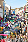 Scene from bottom of Main Street, Dingle during the  St Patricks Day parade
