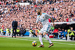 Karim Benzema of Real Madrid in action during the La Liga 2017-18 match between Real Madrid and Sevilla FC at Santiago Bernabeu Stadium on 09 December 2017 in Madrid, Spain. Photo by Diego Souto / Power Sport Images