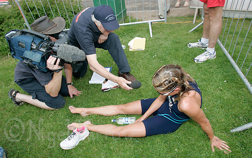 09 JUN 2007 - TREDEGAR, UK - Vanessa Raw - National Elite Triathlon Championships and Corus Elite Triathlon Series Rd 2. (PHOTO (C) NIGEL FARROW)