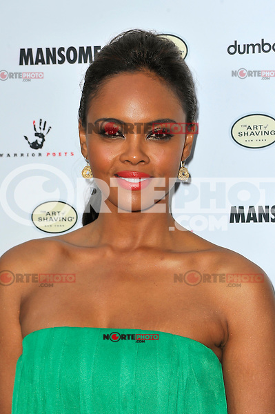 Sharon Leal at the premiere of Morgan Spurlock's 'Mansome' at the ArcLight Cinemas on May 9, 2012 in Hollywood, California. © mpi35/MediaPunch Inc.