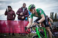 Tim Merlier (BEL/Crelan Charles)<br /> <br /> Koppenbergcross Belgium 2018