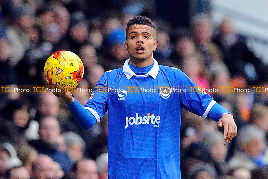 Josh Passley  of Portsmouth - Portsmouth vs Hartlepool United - Sky Bet League Two Football at Fratton Park, Portsmouth, Hampshire - 07/02/15 - MANDATORY CREDIT: Denis Murphy/TGSPHOTO - Self billing applies where appropriate - contact@tgsphoto.co.uk - NO UNPAID USE