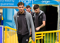 Lincoln City's Tyler Walker arrives at the ground<br /> <br /> Photographer Andrew Vaughan/CameraSport<br /> <br /> The EFL Sky Bet League One - Wycombe Wanderers v Lincoln City - Saturday 7th September 2019 - Adams Park - Wycombe<br /> <br /> World Copyright © 2019 CameraSport. All rights reserved. 43 Linden Ave. Countesthorpe. Leicester. England. LE8 5PG - Tel: +44 (0) 116 277 4147 - admin@camerasport.com - www.camerasport.com