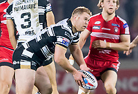 Picture by Allan McKenzie/SWpix.com - 16/03/2018 - Rugby League - Betfred Super League - Salford Red Devils v Hull FC - AJ Bell Stadium, Salford, England - Danny Washbrook.