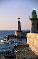 Europe/France/Corse/2B/Haute-Corse/Cap Corse/Bastia: Le port - Le môle génois et la jetée du dragon