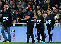 Skysport staff during the Rugby Championship rugby union match between the New Zealand All Blacks and South Africa Springboks at Westpac Stadium in Wellington, New Zealand on Saturday, 27 July 2019. Photo: Dave Lintott / lintottphoto.co.nz