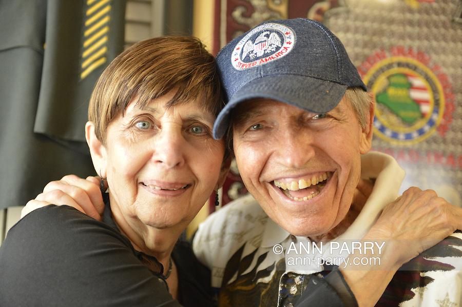 Betty Tucker and her husband Lenny Tucker