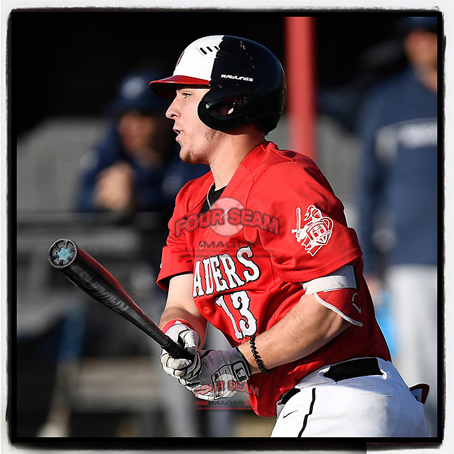 """John Michael Faile of North Greenville @NGUBaseball has been named midseason NCAA Division II """"Most Outstanding Player"""" by Perfect Game. (Tom Priddy/Four Seam Images) @jm_faile13"""