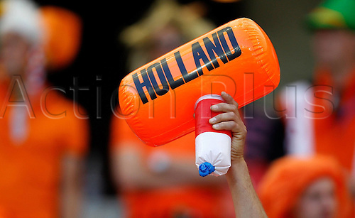 19-06-2010 A Toy Hammer is Hero High with The Character Holland Prior to The 2010 World Cup Group E Soccer Match between Netherlands and Japan at Moses Mabhida stadium in Durban South Africa on June 19 2010