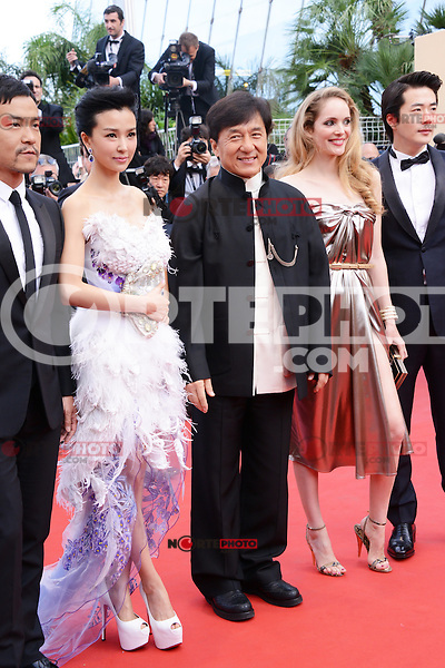 """Jackie Chan attending the """"De Rouille et D'os"""" Premiere during the 65th annual International Cannes Film Festival in Cannes, 17th May 2012...Credit: Timm/face to face /MediaPunch Inc. ***FOR USA ONLY***"""