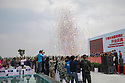 China - Ningxia - The grand opening of the Chateau Copower Jade, on the outskirts of Yinchuan. The 80-hectare-vineyard and the winery's modern structure cost 19 million euros and won the 2018 RVF Wine Design Award. <br /><br />The Copower Jade chateau belongs to an oil exploration and import company based in Hong Kong. It has 11 varieties of grapes and a total production capacity of 800,000 bottles per year.