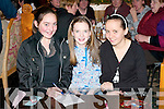 Mary Noonan, Mairead O'Connor and Michelle O'Connor who excercised their brain matter at the table quiz in memory of Tom O'Sullivan at Kate Kearney's Cottage, Beaufort on Friday night 29th December   Copyright Kerry's Eye 2008