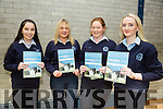 l-r  Collette O'Shea, Martha Bobrowska, Moira O'leary and Katie Flynn at Annual student awards evening of  Presentation Secondary School Castleisland in St John's Hall on Thursday