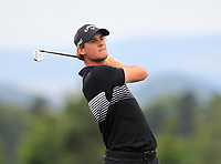 Thomas Pieters (BEL) on the 5th fairway during Round 1 of the D+D Real Czech Masters at the Albatross Golf Resort, Prague, Czech Rep. 31/08/2017<br /> Picture: Golffile | Thos Caffrey<br /> <br /> <br /> All photo usage must carry mandatory copyright credit     (&copy; Golffile | Thos Caffrey)