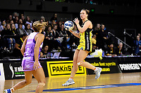 Pulse&rsquo; Claire Kersten in action during the ANZ Premiership - Pulse v Stars at TSB Arena, Wellington, New Zealand on Monday 13 May 2019. <br /> Photo by Masanori Udagawa. <br /> www.photowellington.photoshelter.com