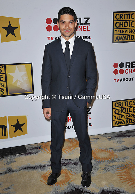 Wilmer Valderrama  at Critics Choice Television Awards-2011 at the beverly Hills Hotel In Los Angeles.