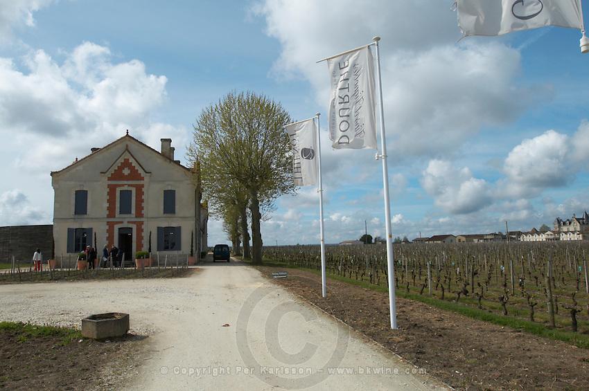 flags winery ch gd barrail lamarzelle figeac saint emilion bordeaux france