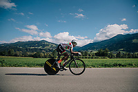 Paul Daumont (BUR)<br /> <br /> MEN UNDER 23 INDIVIDUAL TIME TRIAL<br /> Hall-Wattens to Innsbruck: 27.8 km<br /> <br /> UCI 2018 Road World Championships<br /> Innsbruck - Tirol / Austria