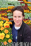 BLOOMING MARVELLOUS: Annette Dalton originally from Tralee now Amenity Manager at the world famous Kew Gardens in London, who designed the floral display on Denny Street which she planted with a team of volunteers on Monday 16th June.
