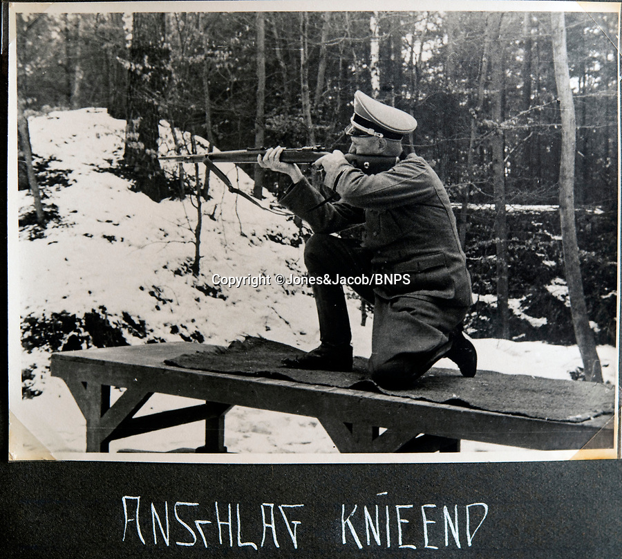 BNPS.co.uk (01202 558833)<br /> Pic: Jones&Jacob/BNPS<br /> <br /> Rifle practice near Berlin.<br /> <br /> Springtime for Hitler...Chilling album of pictures taken by one of Hitlers bodyguards illustrates the Nazi dictators rise to power.<br /> <br /> An unseen album of photographs taken by a member of Hitlers own elite SS bodyguard division in the years leading up to the start of WW2.<br /> <br /> The 1st SS Panzer Division 'Leibstandarte SS Adolf Hitler' or LSSAH began as Adolf Hitler's personal bodyguard in the 1920's responsible for guarding the Führer's 'person, offices, and residences'.