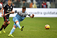 Sergej Milinkovic-Savic of Lazio in action during the Serie A 2018/2019 football match between SS Lazio and Cagliari at stadio Olimpico, Roma, December 22, 2018 <br />  Foto Andrea Staccioli / Insidefoto