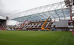 Tynecastle stand construction