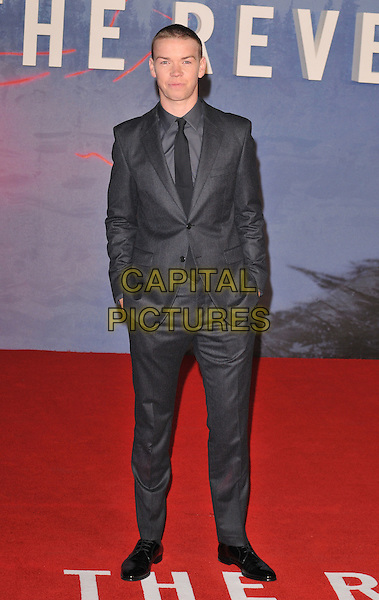 Will Poulter attends the &quot;The Revenant&quot; UK film premiere, Empire cinema, Leicester Square, London, UK, on Thursday 14 January 2016.<br /> CAP/CAN<br /> &copy;Can Nguyen/Capital Pictures