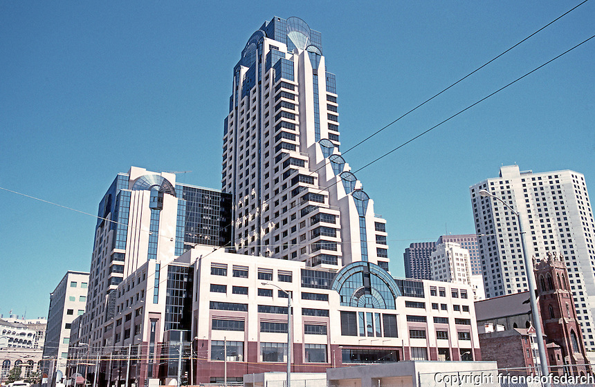 San Francisco: San Francisco, Marriott, five month's before completion.