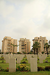 Israel, Negev, the British War Cemetery in Be'er Sheva