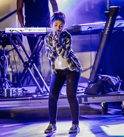 LAS VEGAS, NV - May 15, 2016: ***HOUSE COVERAGE*** Alessia Cara performing at CBS Radio Presents: SPF at The Boulevard Pool at The Cosmopolitan of Las Vegas in Las vegas, NV on May 15, 2016. Credit: Erik Kabik Photography/ MediaPunch