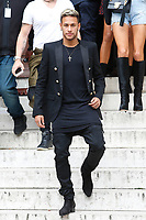Neymar JrParigi 28-09-2017 <br /> Settimana della moda di Parigi <br /> Balmain  <br /> Foto Michael Baucher / Panoramic/Insidefoto