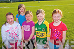 GAMES: Enjoying a great time at the Manor Community Games at the Tralee Sports Complex on Thursday l-r: Bla?thnaid O'Connor and Laura, Melissa, Alanna and Rebecca Dennehy.