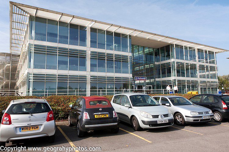 Nationwide building society offices, Pegasus House, Windmill Hill Business Park, Swindon, England, UK