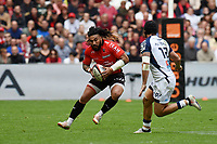 Ma'A Nonu of Toulon during the French Top 14 match between Toulon and Montpellier at Stade Velodrome on April 14, 2018 in Marseille, France. (Photo by Alexandre Dimou/Icon Sport)