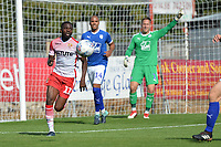 Emmanuel Sonupe of Stevenage during Stevenage vs Tranmere Rovers, Sky Bet EFL League 2 Football at the Lamex Stadium on 4th August 2018